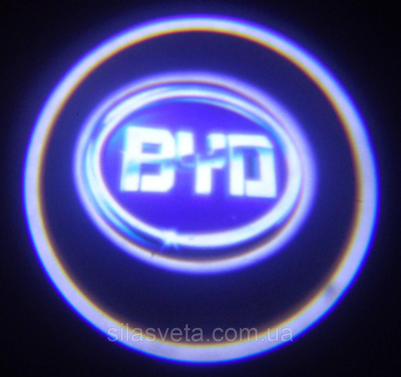 Лазерный проектор логотипа автомобиля BYD