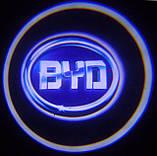 Лазерный проектор логотипа автомобиля BYD, фото 9