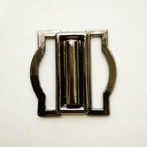 Пряжка разъемная 30мм, блек никель (100шт)