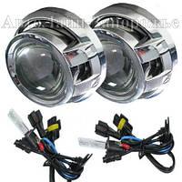 Комплект біксенонових лінз Fantom A5 FT Bixenon lens 3.0 з лампами Fantom