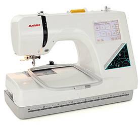 Janome Memory Craft 350E, вышивальная машина с полем вышивки 125 х 110 мм, скорость вышивки 650 ст/мин