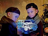 """Детский ночник-светильник """"Автомобиль 22"""" 3DTOYSLAMP, фото 1"""
