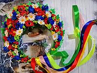 """Кокошник концертный на голову """"Украинский Национальный"""""""