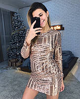 Женское красивое платье с узорами, фото 1