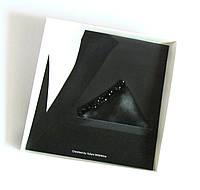 Паше (нагрудный платок для пиджака) черный для праздника