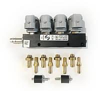 Газовые форсунки Rail IG1 на 4 цилиндра 2 Ом