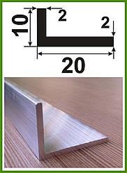 Профильный алюминиевый угол