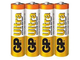 Батарейка GP ULTRA ALKALINE, AA 4шт. (15AU-2DP4)