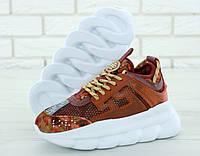 Женские кроссовки Versace Chain Reaction Sneakers