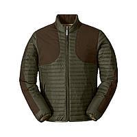 Куртка Eddie Bauer Mens MicroTherm StormDown Field Jacket S Зеленый с коричневым 0131MS-S, КОД: 305202