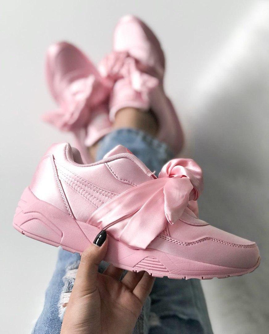 big sale a185a 88a91 Кроссовки в стиле Fenty By Rihanna Bow Sneaker Pink женские: фото, купить в  Киеве, самые новые модели. Все кроссовки и кеды от