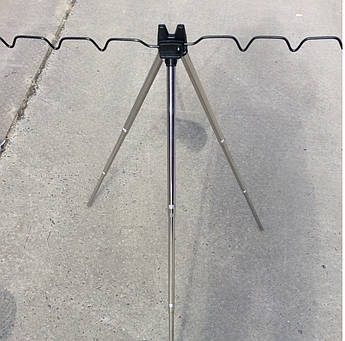 Подставка для удочек металлическая фидерная