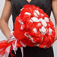 Букет из конфет. Подарок девушке на 14 февраля. На 8 марта. День Влюблённых. Raffaello.