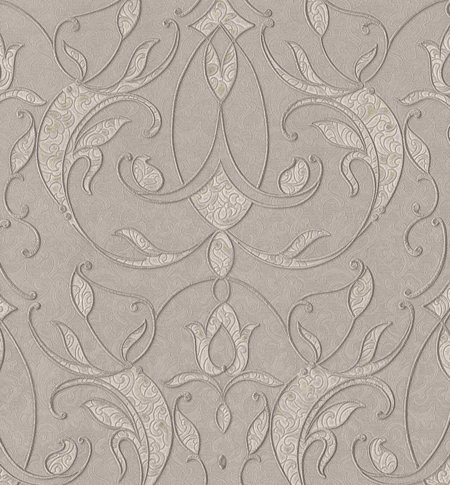 Флизелиновые обои A.S.Creation Estival 34504-4 Коричнево-бежевый, КОД: 166607