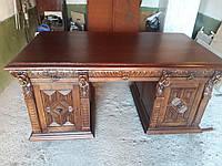 Антикварный стол нач 20 века Голландия  двухсторонний