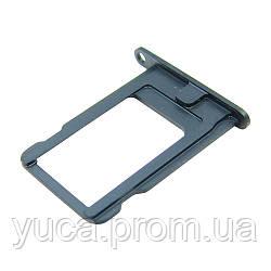 Держатель для SIM карты для APPLE iPhone 5 тёмно-синий