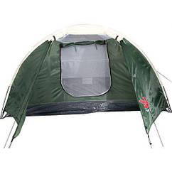 Четырехместная палатка Bestway Montana 68041 Зеленый с белым gr003745, КОД: 108761