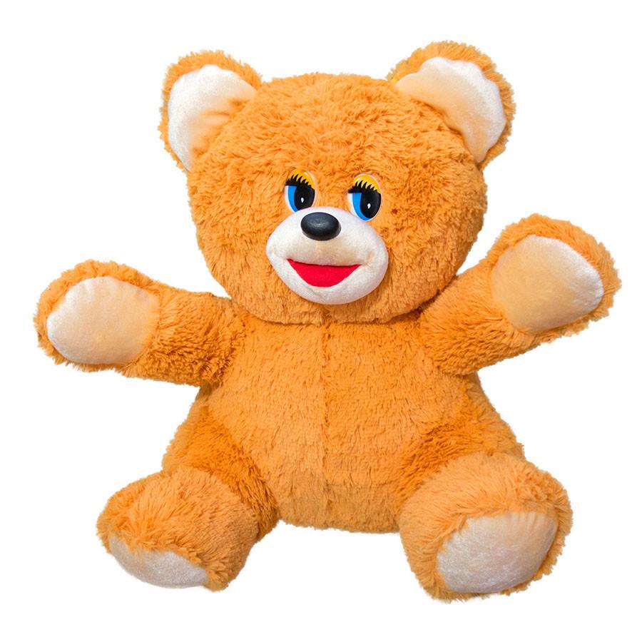 Мягкая игрушка Kronos Toys 48 см Медведь Рыжий zol108-1, КОД: 120779