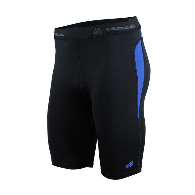 Спортивные женские шорты-тайтсы Radical Rapid XXL Черный, КОД: 152669