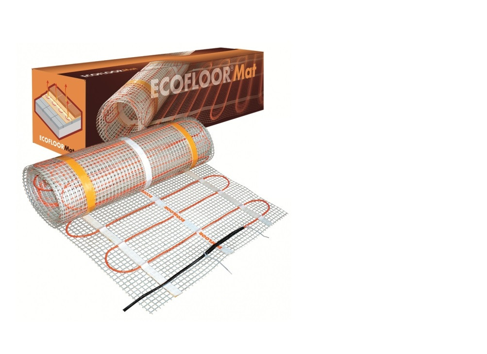 Теплый пол Fenix электрический мат Ecofloor 1.6 м 0.8 м² 130 Вт 10130, КОД: 146159
