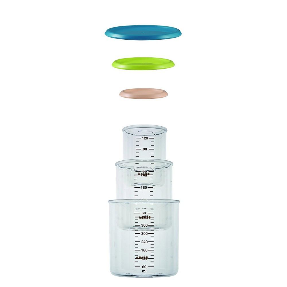 Набор контейнеров для хранения Beaba 3 шт 912476, КОД: 147119