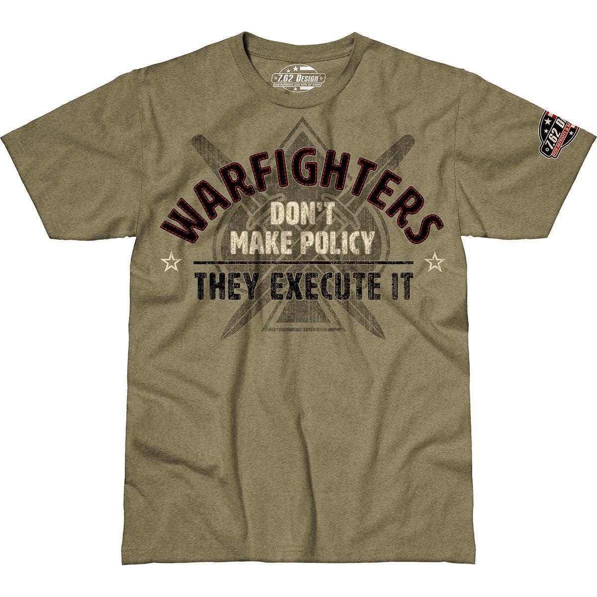 Футболка 7.62 Heather Warfighters L Хаки 762-001-581KH-L, КОД: 274005