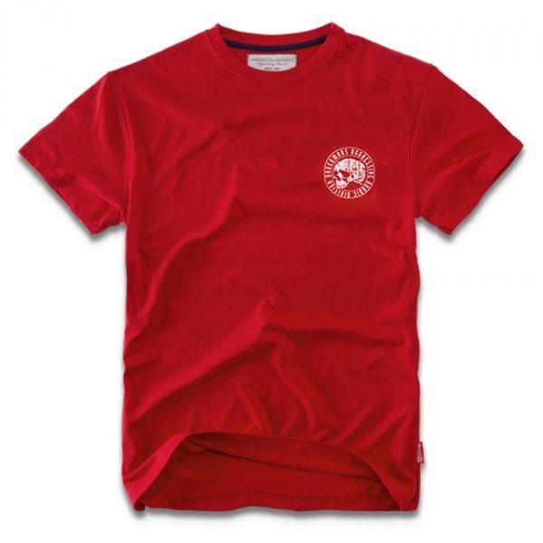 Футболка Dobermans Nord Division L Красная TS29RD, КОД: 272591