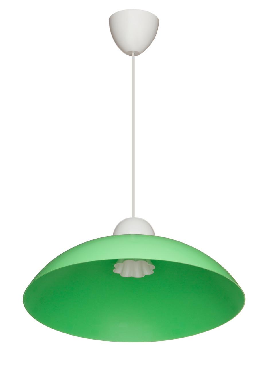 Светильник декоративный потолочный ERKA - 1301 Зеленый, КОД: 130732