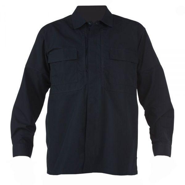 Рубашка 5.11 Tactical ripstop TDU long sleeve shirt Black S Черный 72002BK-S, КОД: 272468