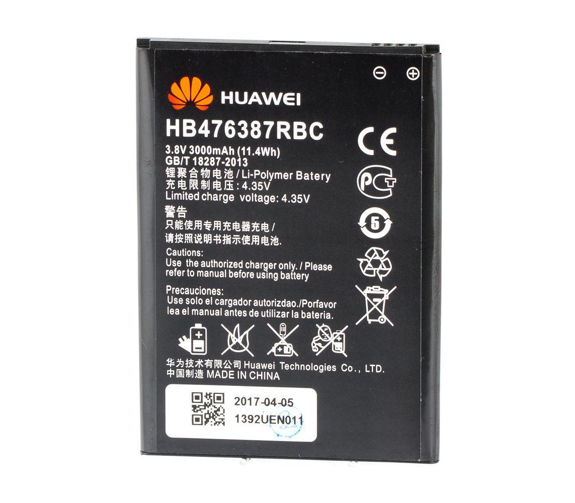 Аккумулятор Huawei HB476387RBC 3000 mAh для Honor 3X AAAA 18725, КОД: 291996