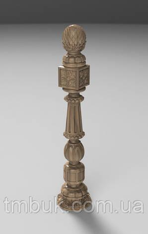 Заходной столб 16 - 1100х218х218 мм, фото 2