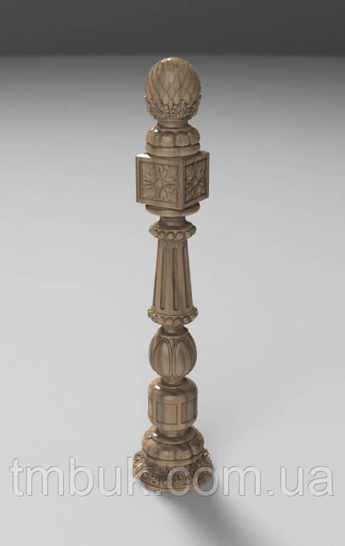 Заходной столб 16 - 1100х218х218 мм