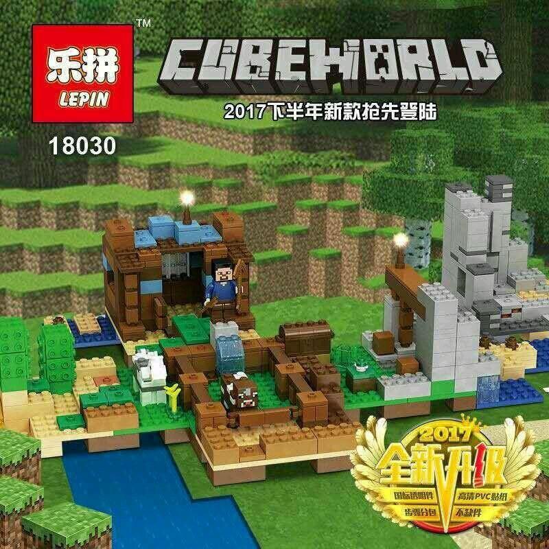 "Конструктор ""Хижина на острове"" Minecraft Lepin 18030 664 деталей"