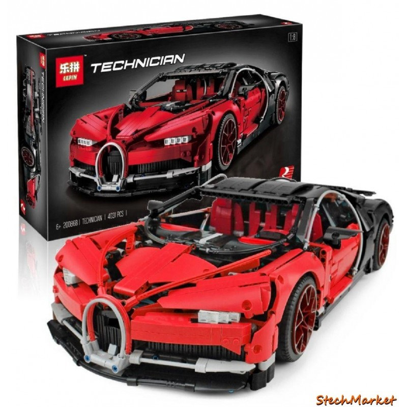 """Конструктор """"Автомобиль Bugatti Chiron"""" Lepin 20086B 4031 деталь"""