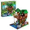 "Конструктор ""Домик у реки"" Lepin Minecraft 18009 406 деталей, фото 2"