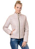 Женская демисезонная куртка IRVIC FZ160 44 Бежевый IrC-FZ160-44, КОД: 259032