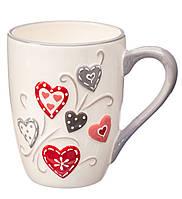 """Чашка """"Love"""" 11х8,5см (керамика)"""
