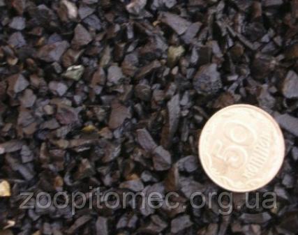 Грунт для аквариума Aquarium Plus (Аквариум Плюс) базальт черный 2*5 мм, 10 кг