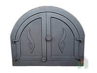 Дверки чугунные Halmat PANAMA1 595X480. Дверцы для печи и барбекю, фото 1