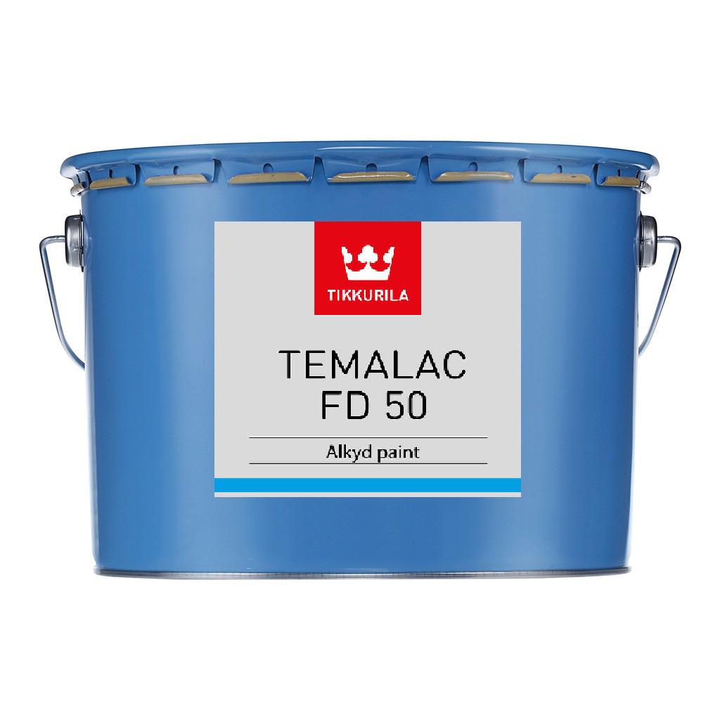 Алкідна фарба для металу Tikkurila Темалак ФД 50 (TСL) 9л