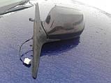 Зеркало заднего вида левое Mazda 6 GG 2002-2007г.в. комби баклажан, фото 2