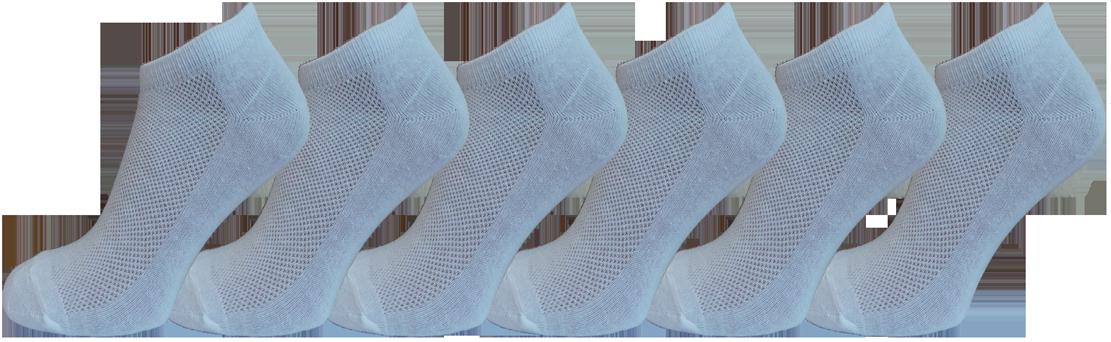 """Чоловічі шкарпетки сітка білі """"lomani"""""""