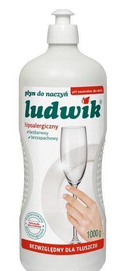 РІДИНА  ЛЮДВІК ДЛЯ МИТТЯ ПОСУДУ ГІПОАЛЕРГЕННИЙ Ludwik 1000 г