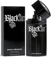 Чоловіча туалетна вода  Paco Rabanne Black XS, 100 ml  ( репліка )