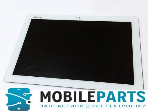 Дисплей для планшета Asus Zenpad 10 | Z300C | Z300CG | Z300CL(зеленый шлейф) с сенсором (Белый) Оригинал Китай
