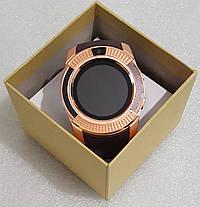 Розумний годинник телефон Smart Watch V8  золотий, фото 3