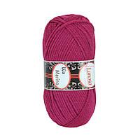 Зимняя пряжа Lanoso Lux Merino 950 35% шерсть Рубиновый