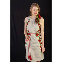 Платье женское вышитое на льне | Плаття жіноче вишите на льоні