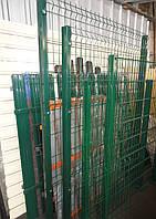 Столбы для панельного забора из сетки 3000, 60*40*1,5