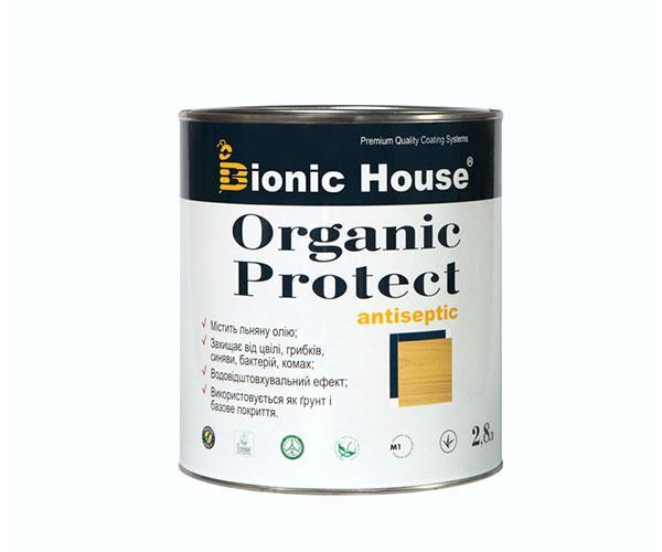 Антисептик для дерева Bionic House Organic Protect 2,8л